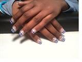 plaid blue black n purple