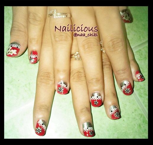 Simple Bridal Nails Nail Art Gallery