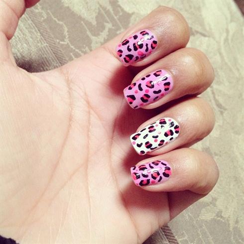 Pretty in pink cheetah print