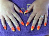 Summer Nails Ala Ombré