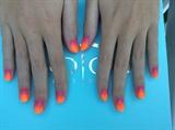 Gel#polish#orange#pink#ombre#love#it;)