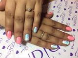 #gel#polish#on#natural#nails#💅🏻❤️