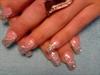 Silver foil with glitter and smallsilver