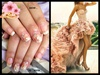 Wedding nails by Nadin