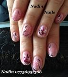 Gelish manicure by Nadin