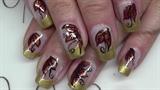 Fall nail designs🍂