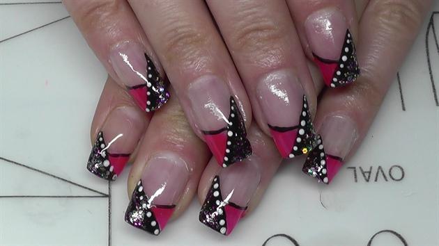 pink party 🎉Nail design
