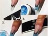 Gel nail design, gele negle