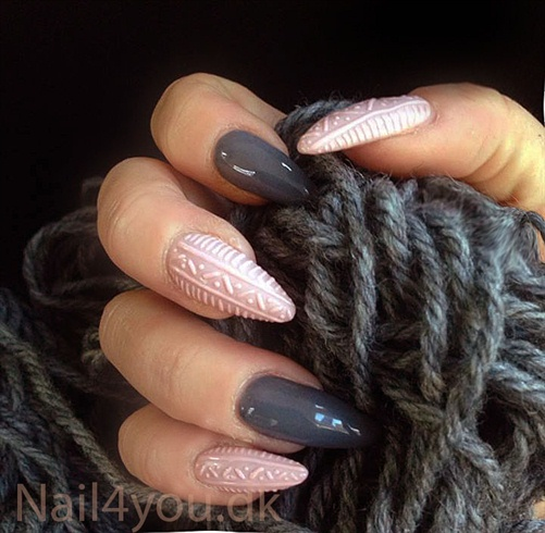 Nail art kunstige negle