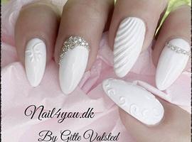 nail art: Gel nails instagram