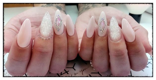 Nail art gel nails - Gele negle