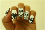 Halloween Nails/ Skull Nails