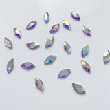 AB Diamond leaf Swarovski crystals