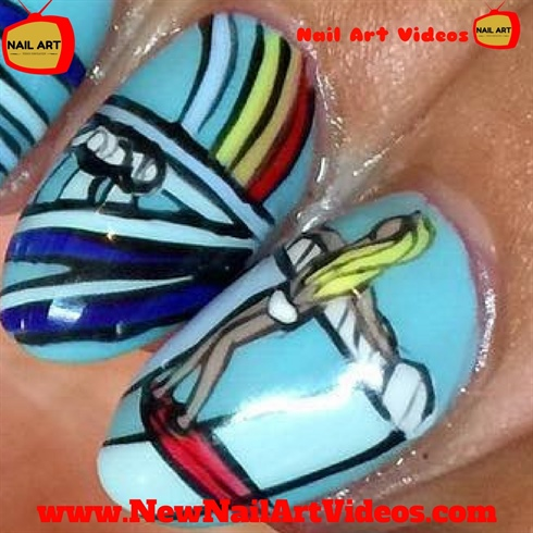 Simple Nail Art Designs | Easy nail art