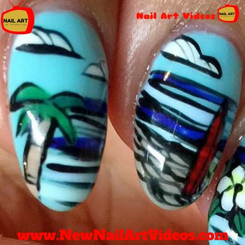 Easy Nail Art Designs At Home Nail Art Gallery