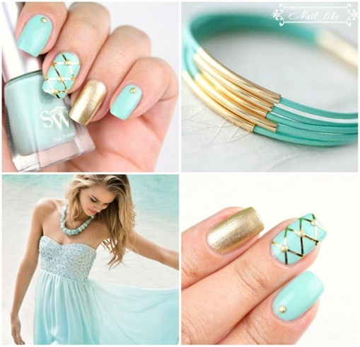 мятный / nail mint