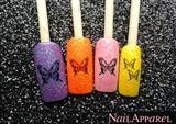 Glittery Butterflies