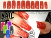 Goyard print inspired false nail set