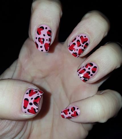 Valentine's  Leopard