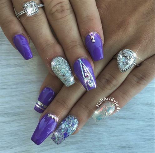 Summer purple