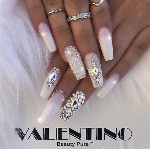 Classic French with Swarovski
