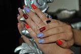 Baroque Design with Nail Polish