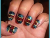 Pendleton Meets Opening Ceremony Nail Ar