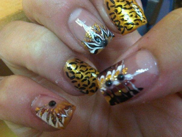 Marble/ Leopard Design