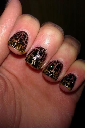 Gold Shatter Effect