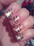 Gold Tiger Stripes