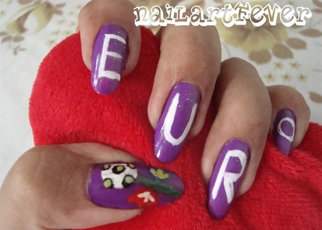 Euro 2012 nails !
