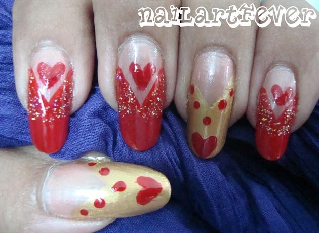 Valentine's day nails !