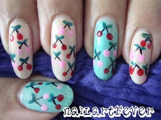Cherry nails !