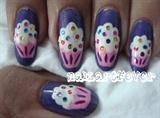 Cupcake nails !