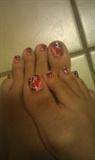 Date Night Heart Toes