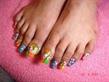 Long Acrylic Toes