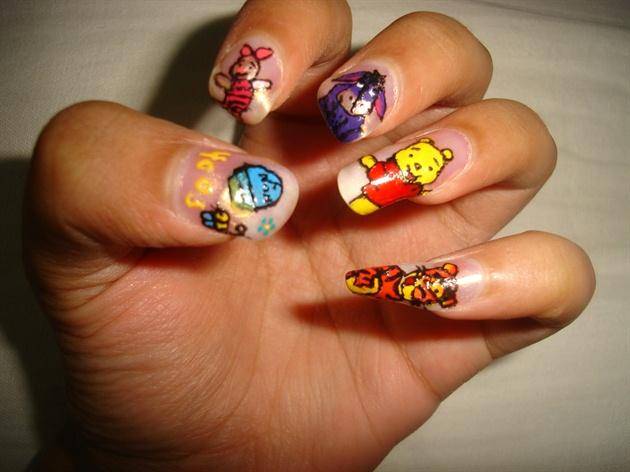 Winnie The Pooh Nails Best Nail Designs 2018