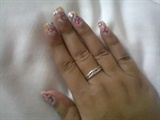 Straw nail art