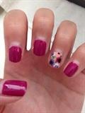 Fun Spring Floral Nails