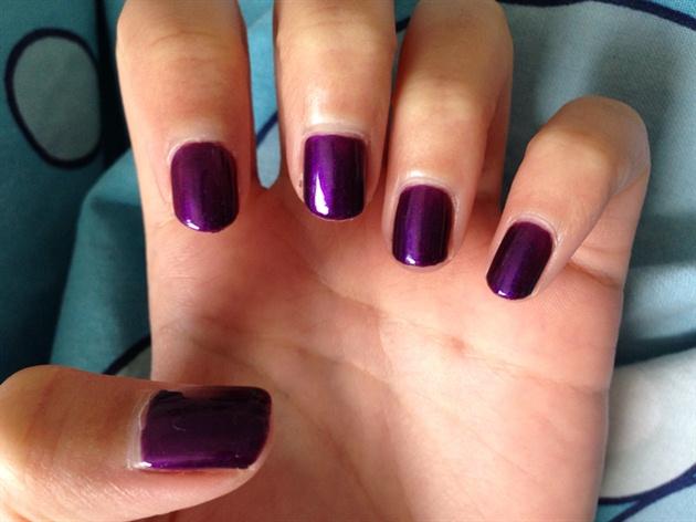Purple Fall Nails