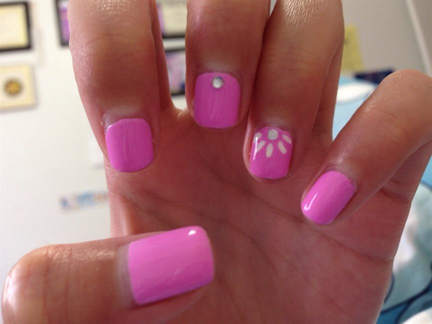 Fun Simple Spring Nails - Nail Art Gallery