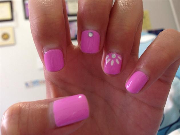 Fun Simple Spring Nails Nail Art Gallery
