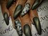 Gothic almond acrylics