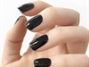 black-Nail-polish Art