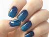 gliter shine gel nail art