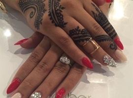 nail art: Nails By Melissa