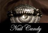 Nail Tip Braclet in Black & White
