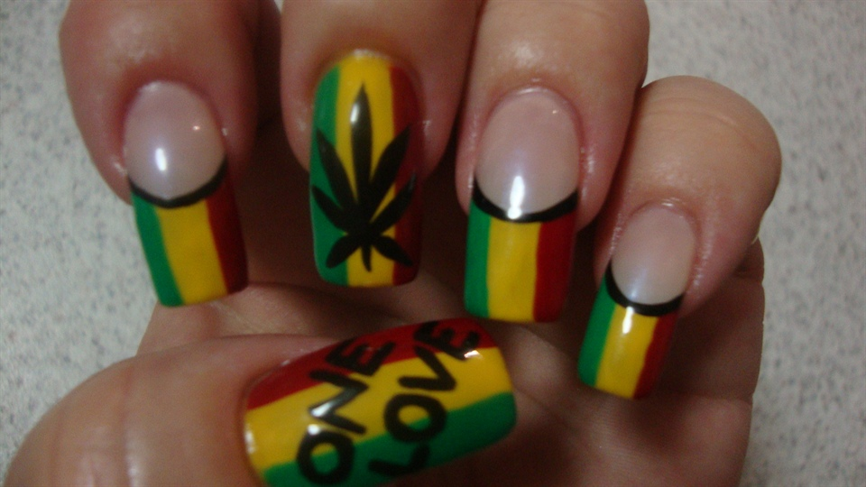 Awesome Jamaica Nail Designs Picture Collection - Nail Paint Design ...