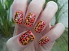 Leopard Print on Nails