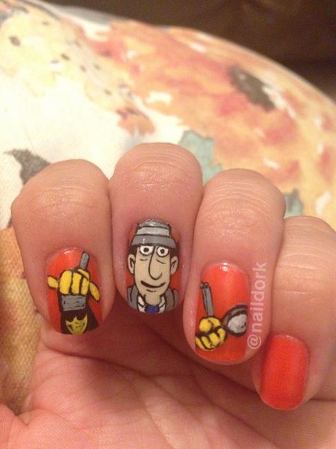 Inspector Gadget! - Nail Art Gallery
